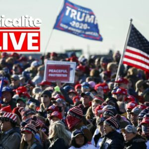 LIVE & UNCENSORED: Million MAGA March Hits Washington DC in Support of US President Donald Trump