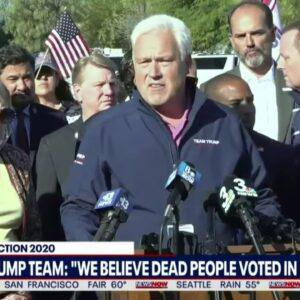 """DEAD PEOPLE VOTING"" President Trump Team Says VOTER FRAUD In Nevada"