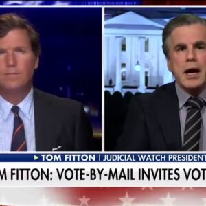 FLASHBACK: Tom Fitton WARNED US about Potential Voter Fraud Risks!