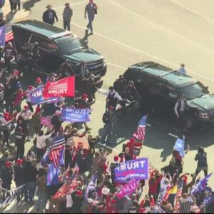 Million MAGA March, pro-Trump supporters gather at Freedom Plaza to protest election results