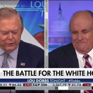 Rudy Giuliani With Lou Dobbs Update PA Election Fraud