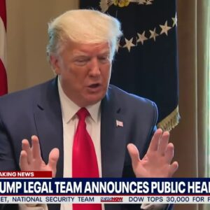 BREAKING: President Trump Legal Team To Do PUBLIC HEARINGS On Election 2020 | NewsNOW From FOX