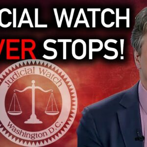 Judicial Watch is Doing the Heavy Lifting that the DOJ WON'T DO on Election Integrity!