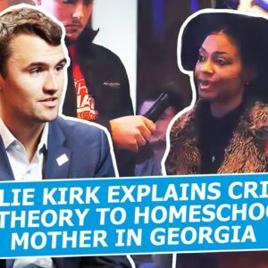 Charlie Kirk Explains Critical Race Theory To Homeschooling Mother In Georgia