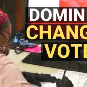 Dominion software allows manual vote entry; Georgia poll watcher finds room for fraud during recount