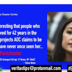 """Community Members That Have Lived In AOC """"District"""" 40+ Years Have Never Even Seen Her!"""