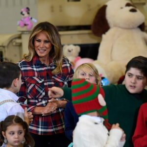 🔴 Watch Live: First Lady Melania Trump Participates in a Toys for Tots Event 12/8/20