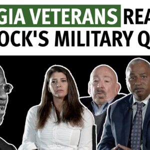 Georgia Veterans React To Warnock's Military Quotes