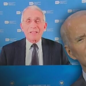 Internet ERUPTS When Dr. Fauci Pops Up at Biden Event