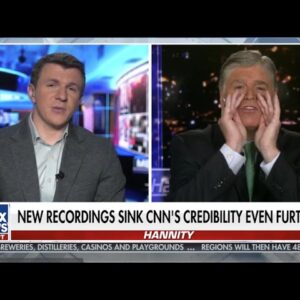 James O'Keefe joins Sean Hannity for the 3rd night in a row #CNNTapes