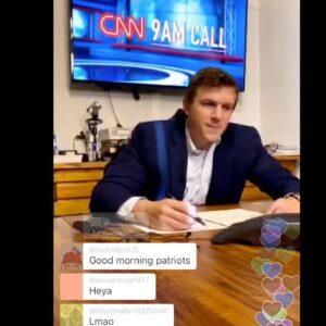 JAMES O'KEEFE LIVE STREAMS CNN PRESIDENT JEFF ZUCKER'S 9AM CALL