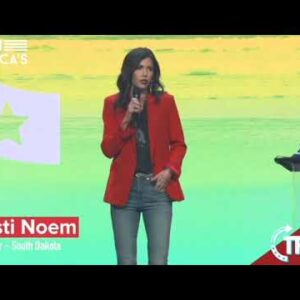 Kristi Noem - When we started all of this I listened.