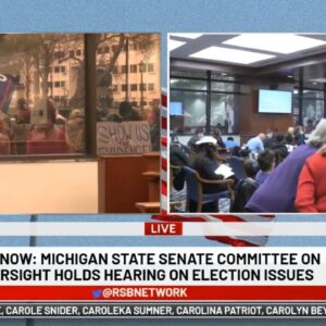LIVE: Rudy Giuliani Appears Before Michigan House Oversight Committee on Election Fraud