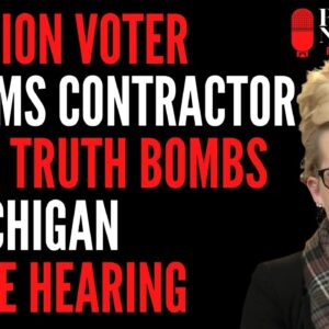 Dominion Contractor Drops a HUGE testimony in front of MI Senate Committee on Oversight