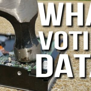 WHAT VOTING DATA?