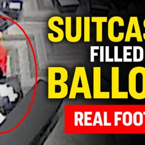 Video: Suitcases Filled With Ballots; Hidden Under Table; Counted Without Oversight | Facts Matter