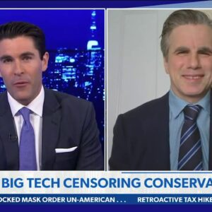 """THE GREAT SUPPRESSION: """"Conservatives Aren't Welcome on Big Tech Platforms Anymore"""""""