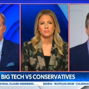 """President Trump CENSORED by Big Tech--""""Corporate Attack"""" on Free Speech in America"""