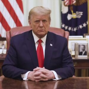 BREAKING: Video Message from President Donald J. Trump 1/13/21