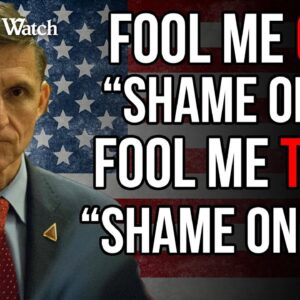 """Lt. General Michael Flynn: """"The American People Will Not Be Fooled Again"""" by Deep State"""