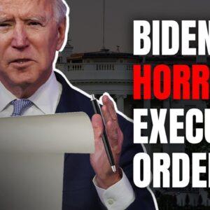 Joe Biden has Already Enacted a Long List of HORRIBLE Executive Orders | Pat Gray Unleashed