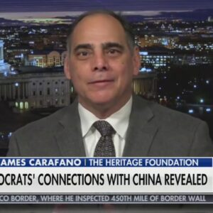 Biden's China Approach Showing Troubling Signs | Lt. Col. Carafano on Fox News