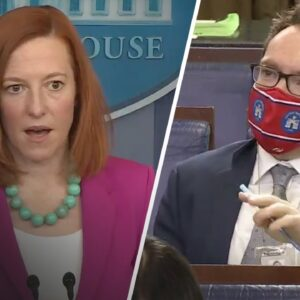 Biden's Press Sec. STUNNED When Pressed On Biden's Hypocrisy With Executive Orders