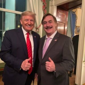 """Mike Lindell Posts Video To """"Give Everybody Confidence"""" That Trump Will Be President Four More Years"""