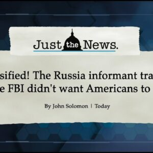 BREAKING: Declassified docs show FBI willfully ignored evidence Trump-Russia collusion hoax was lie