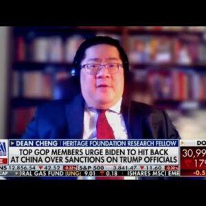 China Is Hoping Joe Biden Rolls Back Trump's Strong Policies | Dean Cheng on Fox Business
