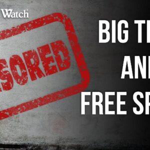 Leftist Big Tech Threatens Free Speech of ALL Americans!