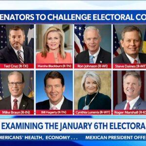 MULTIPLE SENATORS Challenging 2020 Electoral College--Can Trump Still Win?