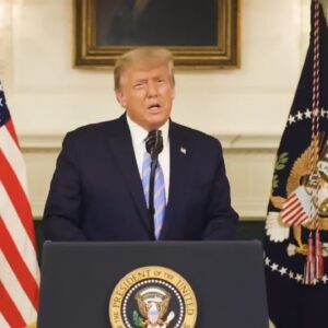 """President Trump Addresses Nation, Looks Toward A """"Smooth Transition"""" Of Power To New Administration"""