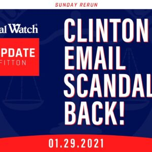 Establishment Freaks Out on Gamestop Stocks...Ballot Harvesting...Clinton Email Scandal is BACK