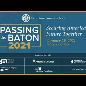 Passing the Baton 2021: Securing America's Future Together
