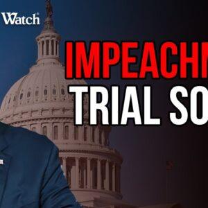 SHAM Impeachment Trial of Trump Happening SOON...