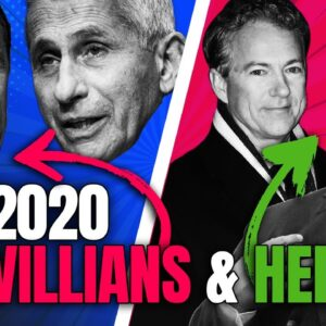 Who Are the Heroes and Villains of 2020? | Pat Gray Unleashed