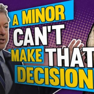 Sen. Rand Paul: It's OBSCENE To Think a Child Can Choose Gender   The Glenn Beck Program