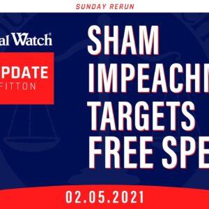 Sham Impeachment Targets Free Speech   What's Biden Hiding  Judicial Watch in Court!