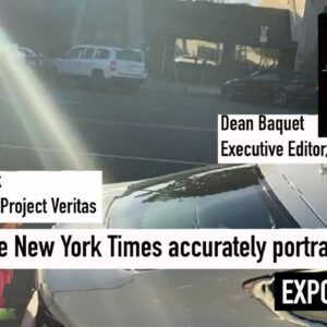 """NYT Executive Editor Dean Baquet calls Project Veritas the """"Sleaziest operators in the world"""""""