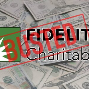 Fidelity Charitable Falsely States PV is Being Investigated for 'Illegal & Non-Charitable Activity'