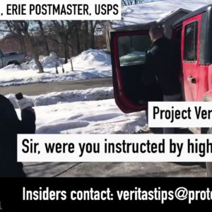 Veritas Journalist Asks Erie, PA USPS Postmaster Rob Weisenbach About Alleged Ballot Back-Dating