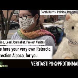 "Raw Story ""Journalist"" Sarah Burris SPEECHLESS When Presented Retracto Plushie By Veritas Journalist"