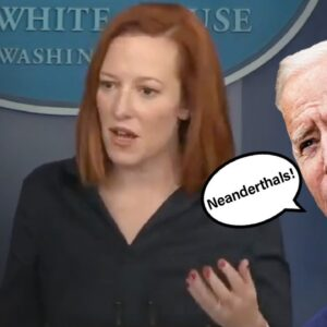 "Biden Attacks States Opening Up as ""Neanderthals"" – Press Sec.'s Response Makes It Worse"