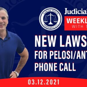Judicial Watch SUES for Info on Big-Tech Censorship and Pelosi/Anti-Trump Phone Call