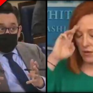 Psaki CONFRONTED about Joe's Most COWARDLY Move Yet and Her Answer is Even More Pathetic