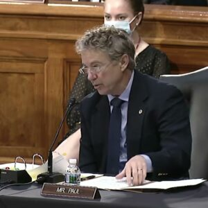 Dr. Rand Paul Paul Joins Hearing on Foreign Relations