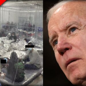 BREAKING: Never Before Seen Leaked Photos Show the Horror Within Biden's Concentration Camps