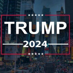 🔴 LIVE: TRUMP SAVE AMERICA FLAG UNFURLING: NEW YORK CITY