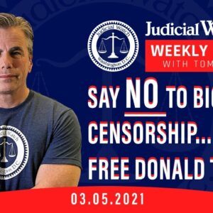 SAY NO TO BIG-TECH CENSORSHIP—Free Donald Trump!  Left Seeks to Abuse IRS Info—AGAIN
